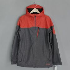 Volcom Prospect Insulated Snowboard Jacket Grey / Red