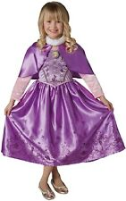 Girls Disney Winter Rapunzel Tangled World Book Day Fancy Dress Costume Outfit