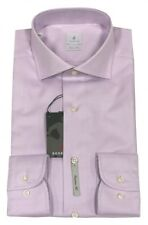 RODRIGO classische Camicia - Doppio Ritorto con squalo colletto - MADE IN ITALY