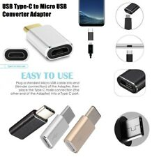 USB Type C Male 3.1 To Micro USB Female Converter USB-C Charger Adapter hub
