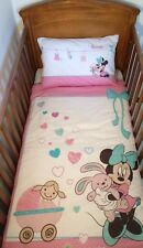 Disney Minnie What a Doll Bedding Set for  Cotbed