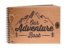 Our Adventure Scrapbook, Photo Album, Travel Journal, Camping, Campervan Gift