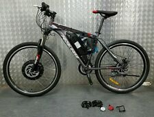 Pedalease electric mountain bike 48v 1000w, Samsung cell lithium battery LED