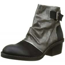 Womens Fly London Dape897 Full Leather Mid Heeled Ankle Boot Assorted Colours