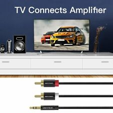 Vention 3.5mm Male To 2RCA Male Audio Cable Headphone Aux Jack Splitter Cable CC