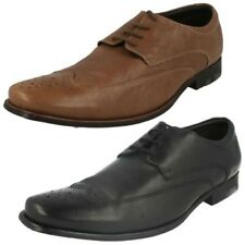 Hombre CLARKS Cuero Zapato Oxford Formal Con Cordones Lable - Feelin Suave