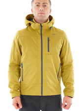 CMP Giacca Softshell Giacca Outdoor Giacca tecnica GIALLO WP 7.000mm cappuccio