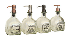 Patron Soap Dispensers / Patron Dish Soap Dispenser / Bottle / Bathroom Kitchen
