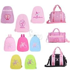 Girls Kids Gymnastics Dance Ballet Training School Tote Shoulder Bag Handbag New