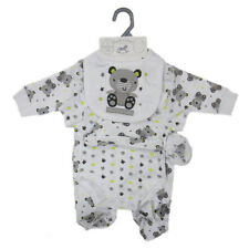 Unisex Baby Boys Girls Cute Bear 5 Piece Layette Gift Set (Newborn - 6 Months)