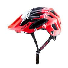 All Mountain MTB enduro cycle helmet 7IDP M2 Tactic Red White