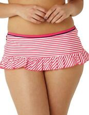 Cleo by Panache Lucille Skirted Bikini Brief Pant Coral SW0197 * New Swimwear