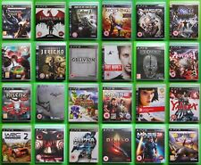 SELECTION OF SONY PS3 GAMES -  YOU CHOOSE