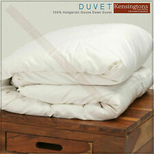 Luxury Hotel Quality Hungarian Goose Down Duvet All Season Fillings Togs & Size