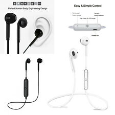 Wireless Bluetooth Earphones Headphones Headset Sport Gym With Mic In-ear