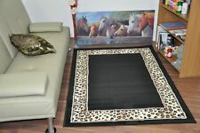 New Extra Large Modern Soft Leopard Animal Print Area Rugs Carpet Mat Cheap Rug