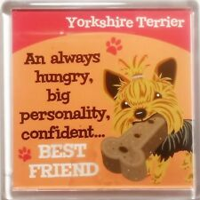 """Dog Magnet """"Yorkshire Terrier"""" by Paper Island"""
