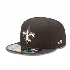 New Era NFL NEW ORLEANS SAINTS Authentic On Field 59FIFTY Game Cap NEU/OVP