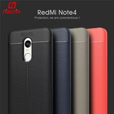 For▪Redmi Note 4 || Premium Brushed_TPU_Carbon Fibre Back Cover || High Quality.