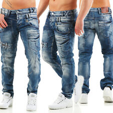 Cipo & Baxx Herren Jeans Hose Regular Fit CD119