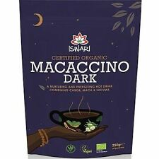 Iswari Macaccino Dark Hot Chocolate Drink 250g