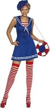 Ladies Sexy Naughty Nautical Sailor Carnival Fun Fancy Dress Costume Outfit