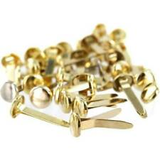 13mm Quality Brass (Gold) Paper Fasteners Split Pins Butterfly Clip