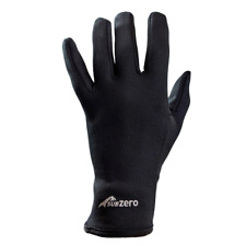 c6ce75d573b Sub Zero Factor 2 Mid Weight Warm Thermal Liner Protection Gloves Black