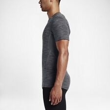 Nike Pro Hypercool Fitted Men's Short-Sleeve Training Top Shirt 871728 010 Grey