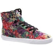 Supra Girls Skytop Floral/White Shoe. Supra Shoes Supra Trainers £30 OFF RRP !