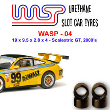 WASP 04- Urethane Slot Car Tyres - Scalextric GT, LMP & touring