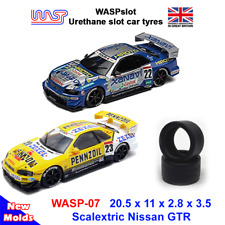 WASP 07- Urethane Slot Car Tyres - Scalextric JGTC, GT & touring low profile
