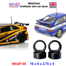 WASP 08 - Urethane Slot Car Tyres - Scalextric BTCC, Powerslot