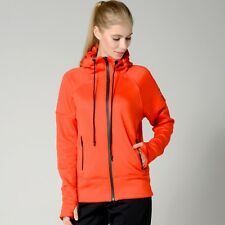 Womens adidas Climaheat Full Zip Hoodie Hooded Top UK Size XS Small Large NEW