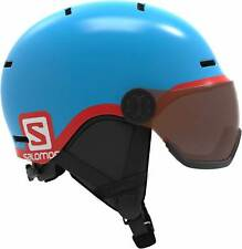 Salomon Grom Visor Kinderskihelm