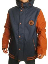 Giacca snowboard DC DCLA SE jacket mountain cappotto brown blue uomo