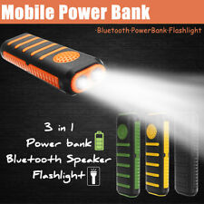 3000mAh Portatile USB Bluetooth Speaker Power Bank Batteria Caricabatterie