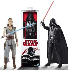 Star Wars Darth Vader or Rey (Jedi Training) 12 inch / 30cm Action Figures