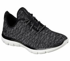 SCARPE SKECHERS FLEX APPEAL 2.0 FIRST IMPRESSIONS donna grigio memory 12891 BKW