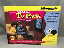Microsoft Actimates TV Pack For Interactive Barney Unused Sealed VHS Tape