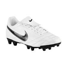 Nike EGOLI FG Boy's White Synthetic Football Shoes (354719 101)