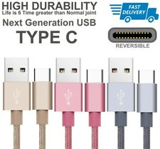 1M2M Extra Long Braided Fast USB-C 3.1 Type C To USB 3.0 Date Sync Charger Cable