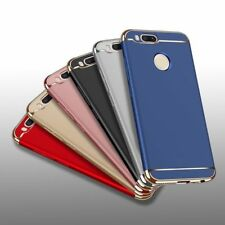 3 In 1 Electroplated Bumper Hybrid Armor Hard Back Cover Case For Xiaomi Mi A1