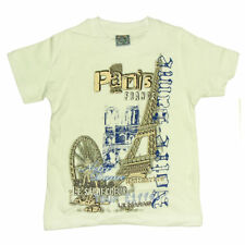 Souvenirs de France - T-Shirt Enfant 'Quartiers de Paris' - Blanc