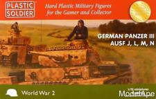 PLASTIC SOLDIER COMPANY 72nd Scale German Panzer III AUSF J, L, M, N