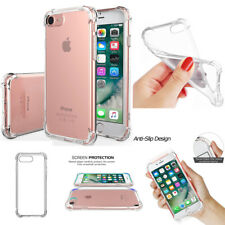 NEW Transparent Shockproof TPU Silicone Protective Back Case For iPhone 5 6 7 8+