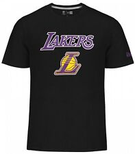 New Era - NBA Los Angeles Lakers Team Logo T-Shirt - black