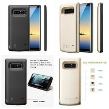 Samsung Galaxy Note 8 Extended Battery Backup Power Charger Juice Cover 6500mAh
