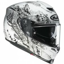 HJC CASCO INTEGRALE  IN FIBRA PIM RPHA 70 HANOKE MC5  VARIE TG DISPONIBILI