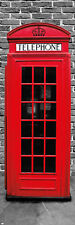 London - Telephone Box Red - Tür-Poster / XXL Poster